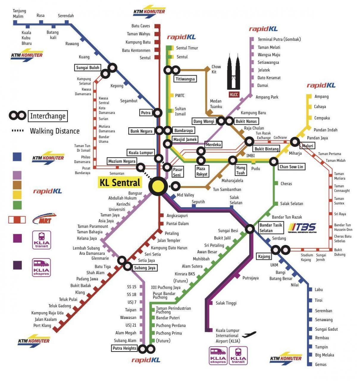 Kl Transport Kort Kuala Lumpur Transport Kort Malaysia